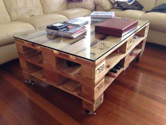 table-basse-palette-industrielle