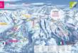 La Rosière - Plan des pistes de ski