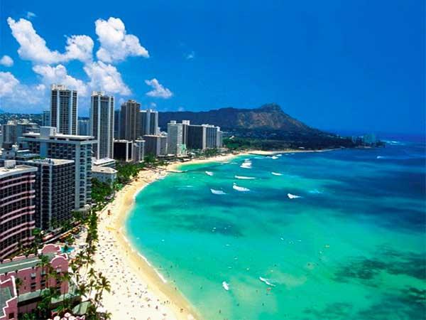 Plage de Honolulu