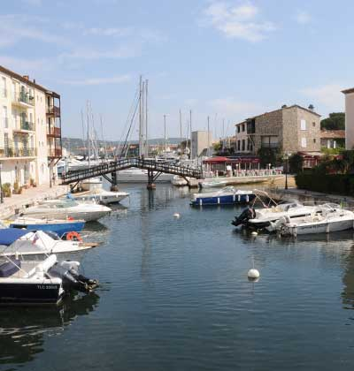 Ville de Port-Grimaud - Photo du port