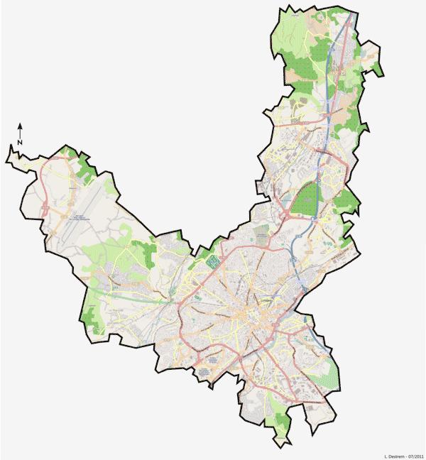 Carte de Limoges